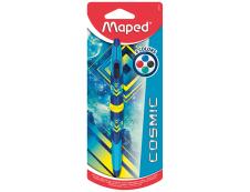 Maped Cosmic Teens - Stylo à bille 4 couleurs Twin Tip - bleu