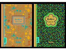 Kickers - Cahier de textes 15,5 x 22 cm - Oberthur