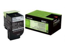 Lexmark 802K - noir - cartouche laser d'origine