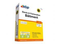 EBP Devis & Facturation Batiment classic - dernière version + services associés - 1 utilisateur