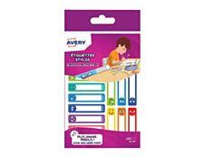Avery Family Smileys - étiquette autocollante