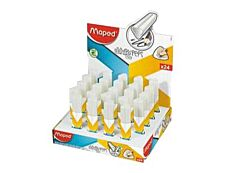 Maped - Pack de 24 - gommes - White Peps