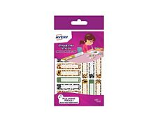 Avery Family Leopard & Cie - étiquette autocollante