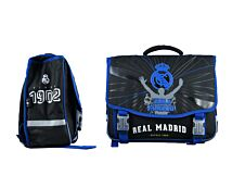 Real Madrid - Cartable 41 cm - 2 compartiments - Quo Vadis