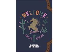Stalla Bianca Agenda Ranch 1 Jour par page 12X17cm 352 pages Kid'Abord