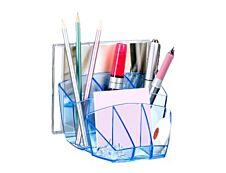 CEP Ice Blue - Multipot à crayons 8 compartiments - bleu