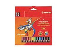 Stabilo Trio thick - 18 Crayons de couleur