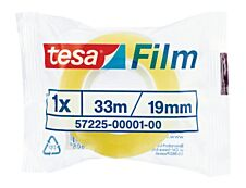 Tesa - Ruban adhésif - 19 mm x 33 m - transparent