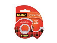 Scotch Crystal - Ruban adhésif - 19 mm x 7,5 m - transparent
