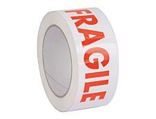 Logistipack - Ruban adhésif - 50 mm x 100 m - Fragile
