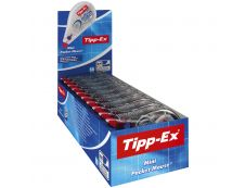 Tipp Ex - pack de 10 - correcteurs - Mini Pocket Mouse - 5mm x 6m