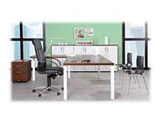 Bureau EXPRIM Manager - 200 x 100 cm - Pieds Carbone - imitation chêne clair