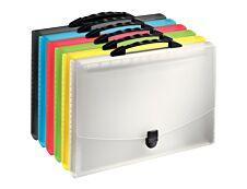 Esselte Vivida - Classeur ménager (valisette trieur) 12 onglets - disponible dans différentes couleurs