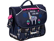 Cartable Hola Lama 38 cm 2 compartiments Kid'Abord