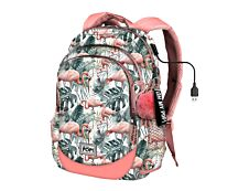 Oh My Pop! HS Flamenco Tropical sac à dos pour ordinateur portable