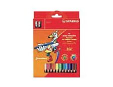 Stabilo Trio thick - 12 Crayons de couleur