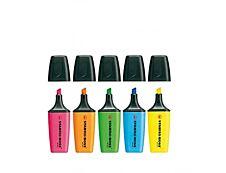 STABILO BOSS MINI - Pack de 5 - surligneurs - couleurs assorties