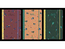 Sakura - Agenda à élastique 10 x 15 cm - 1 semaine sur 2 pages - Oberthur
