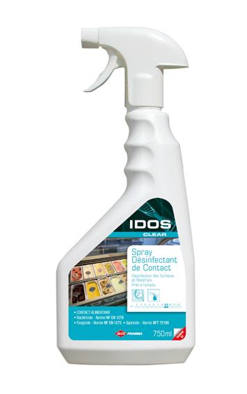 IDOS CLEAR - Désinfectant 750ml