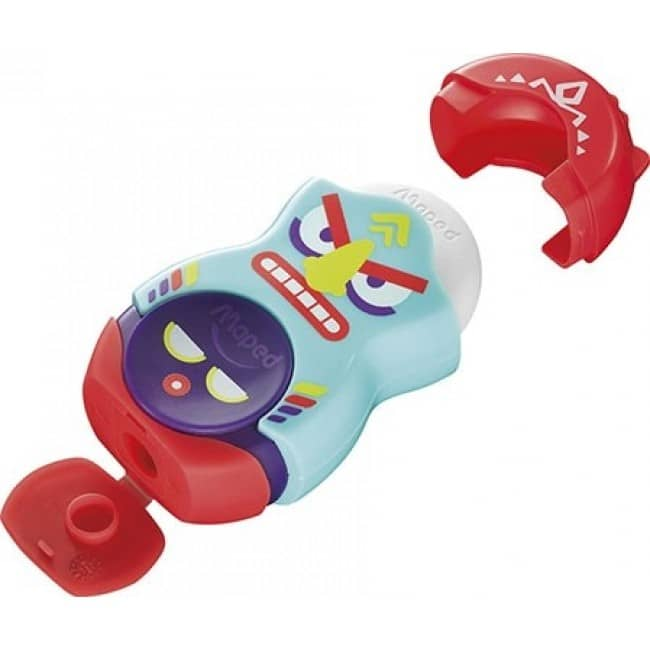 Maped Loopy Totem - Taille crayon / gomme - 1 trou