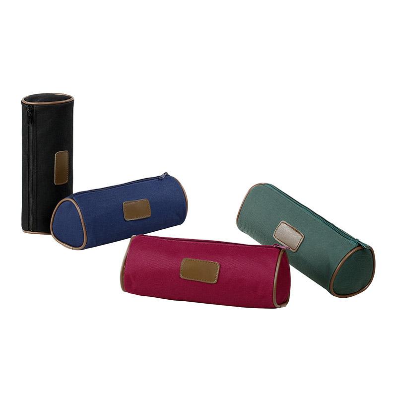 Trousse ronde New Luxe - 1 compartiment - 4 coloris disponibles - Viquel