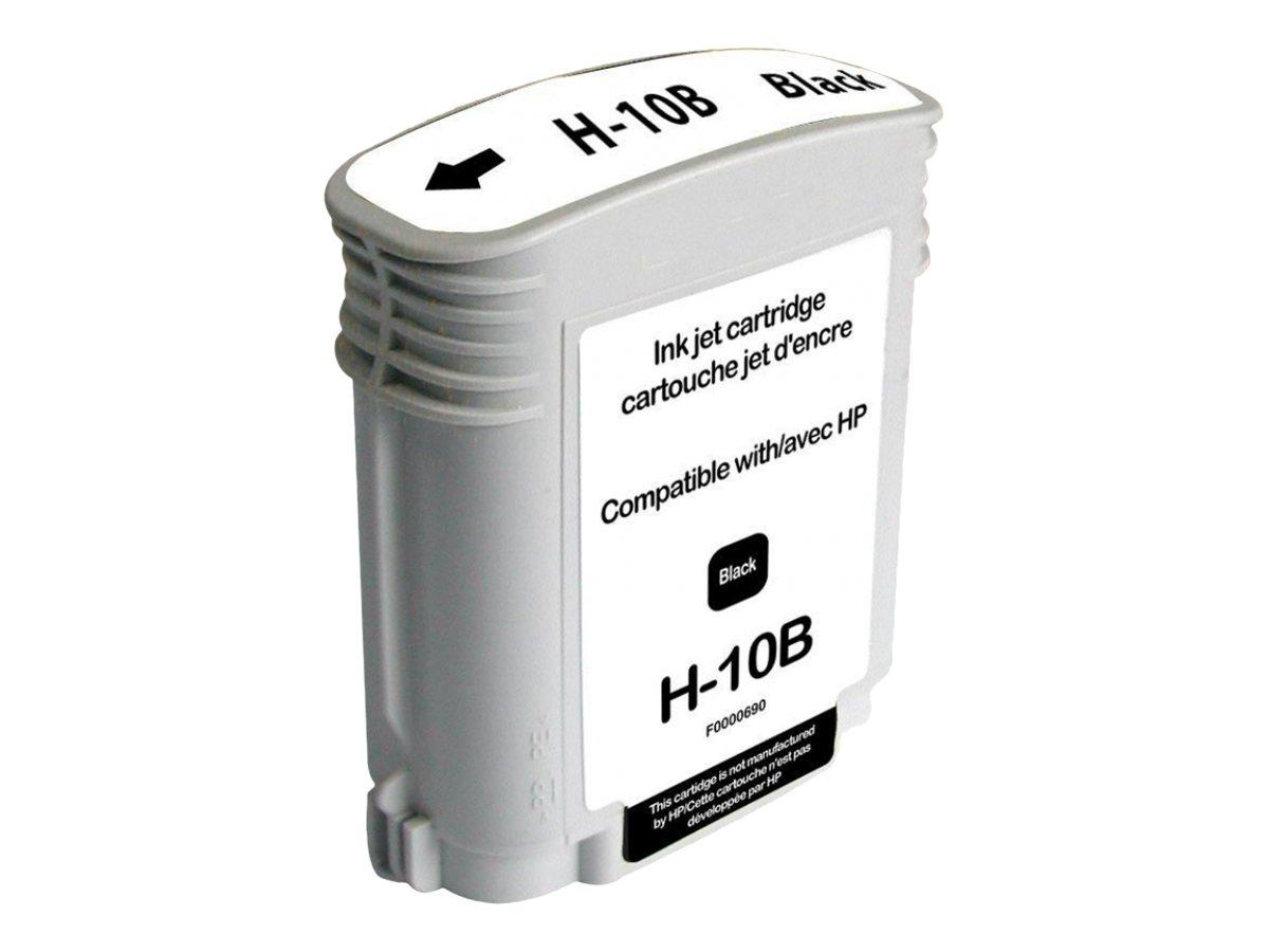 HP 10 - remanufacturé UPrint H.10 - noir - cartouche d'encre