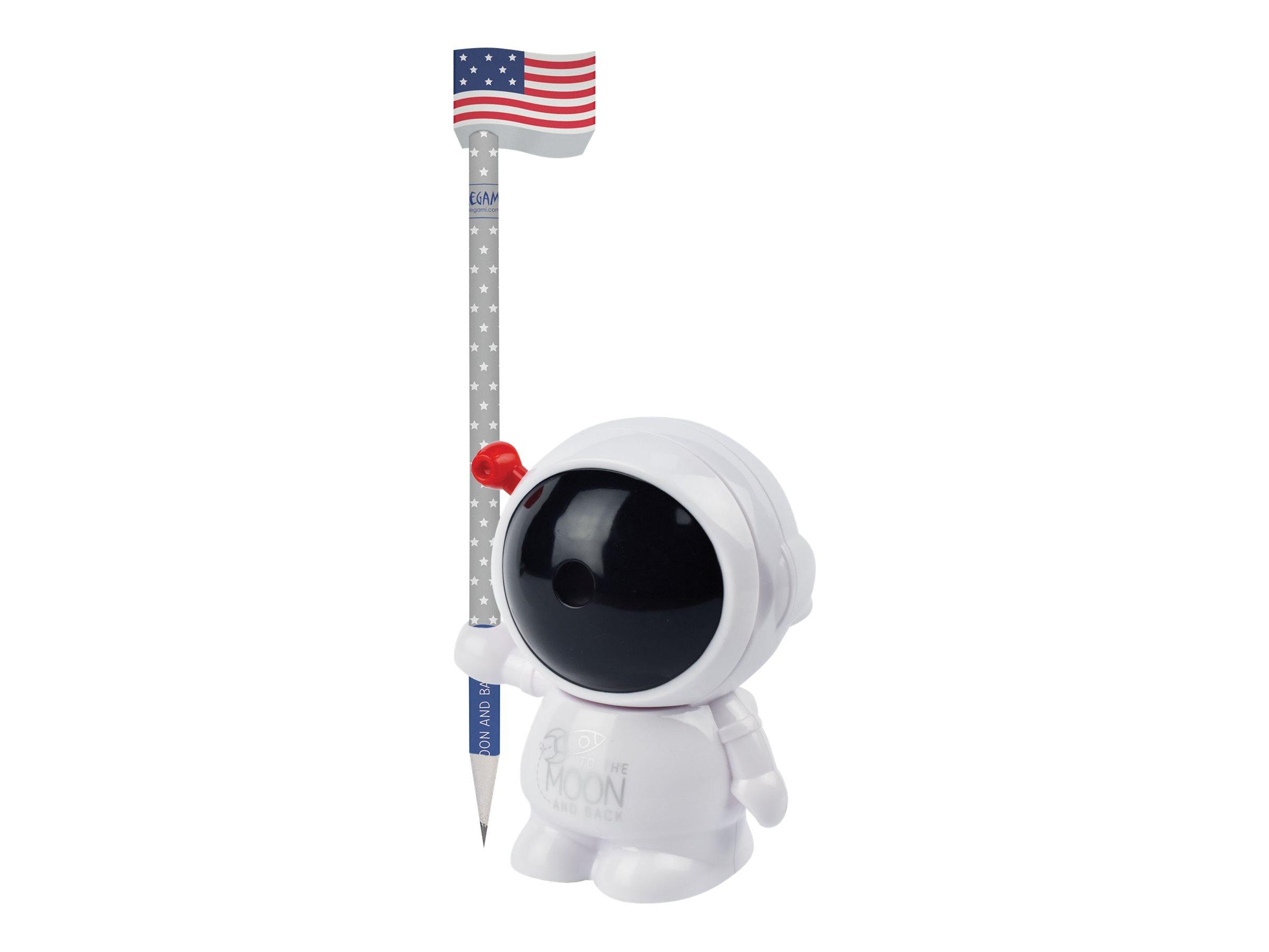 Legami - Taille-crayon rotatif - motif astronaute