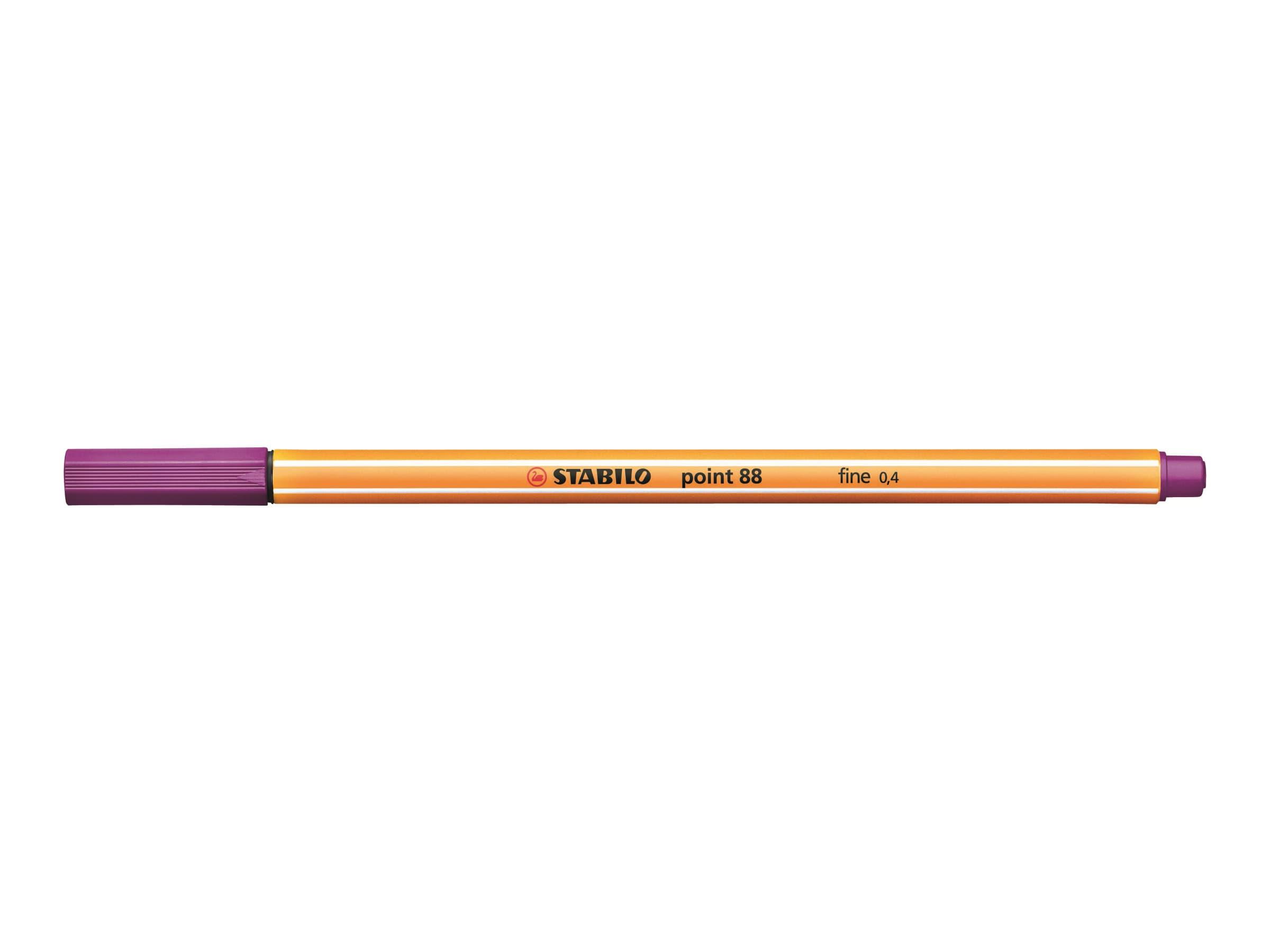 STABILO point 88 - Feutre fin - 0.4 mm - lilas
