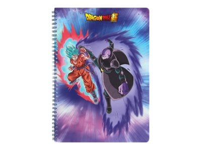 Dragon Ball - Cahier à spirale A4 - 100 pages - ligné - Clairefontaine