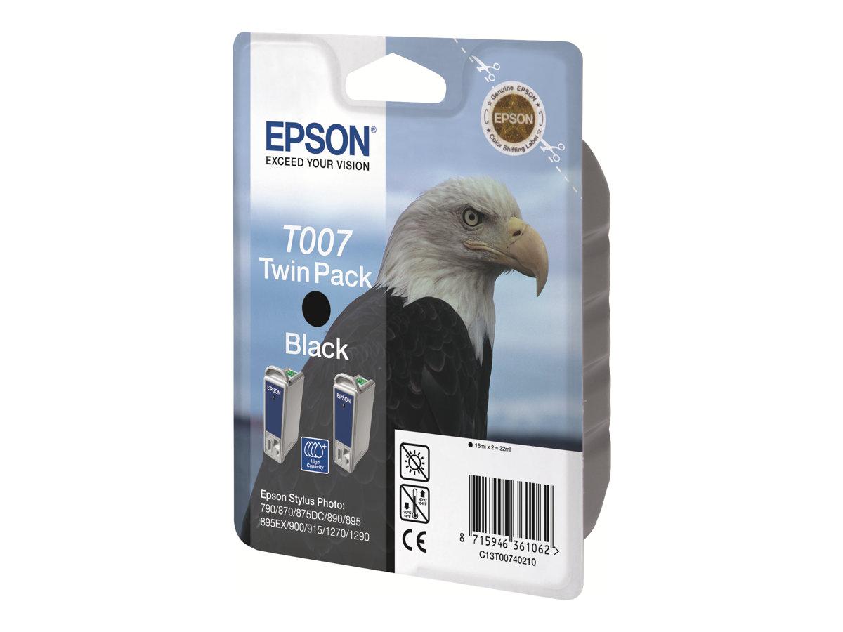 Epson T007 Aigle - noir - cartouche d'encre originale