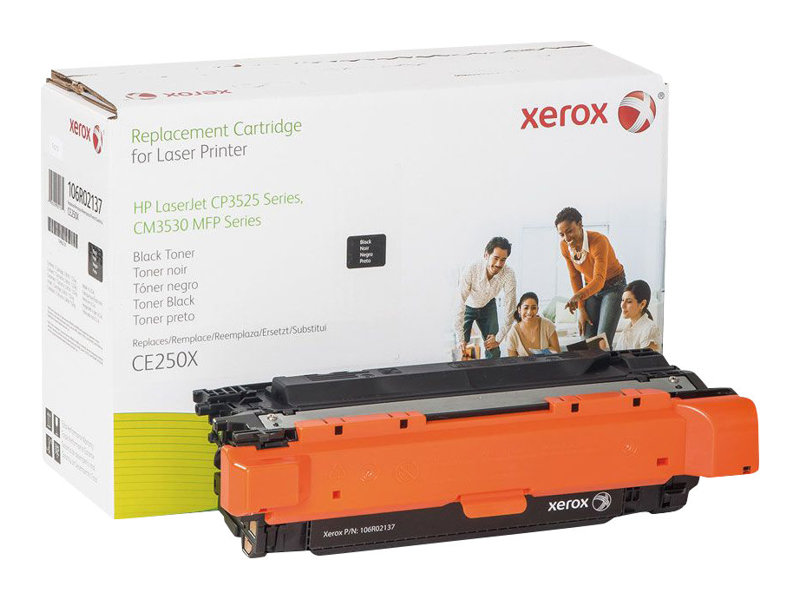 Xerox HP Colour LaserJet CM3530 MFP - noir - cartouche de toner (alternative pour: HP CE250X)