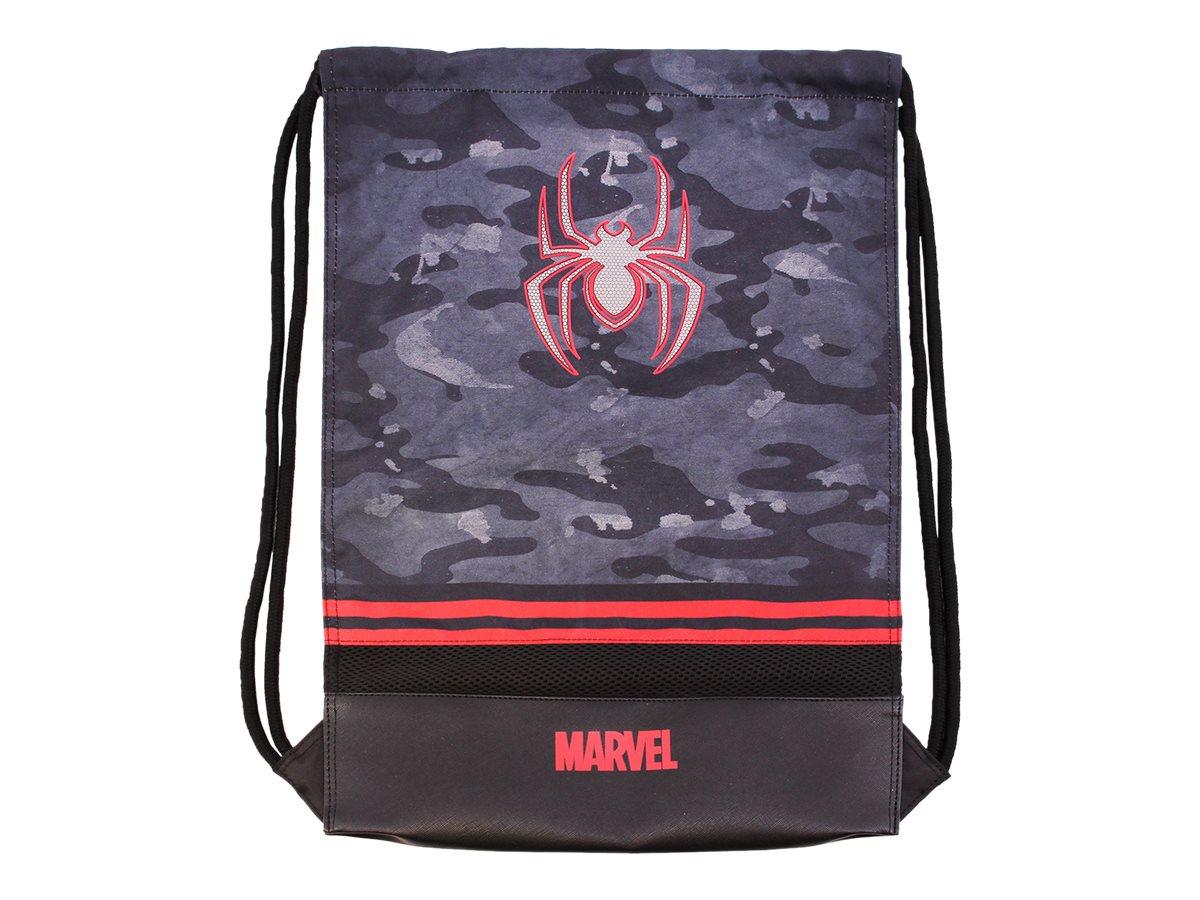 Spiderman Dark - Sac à dos piscine cordon - 1 compartiment - Karactermania