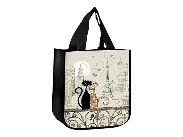 Kiub Bug Art - Sac Cabas - Chat Tour Eiffel