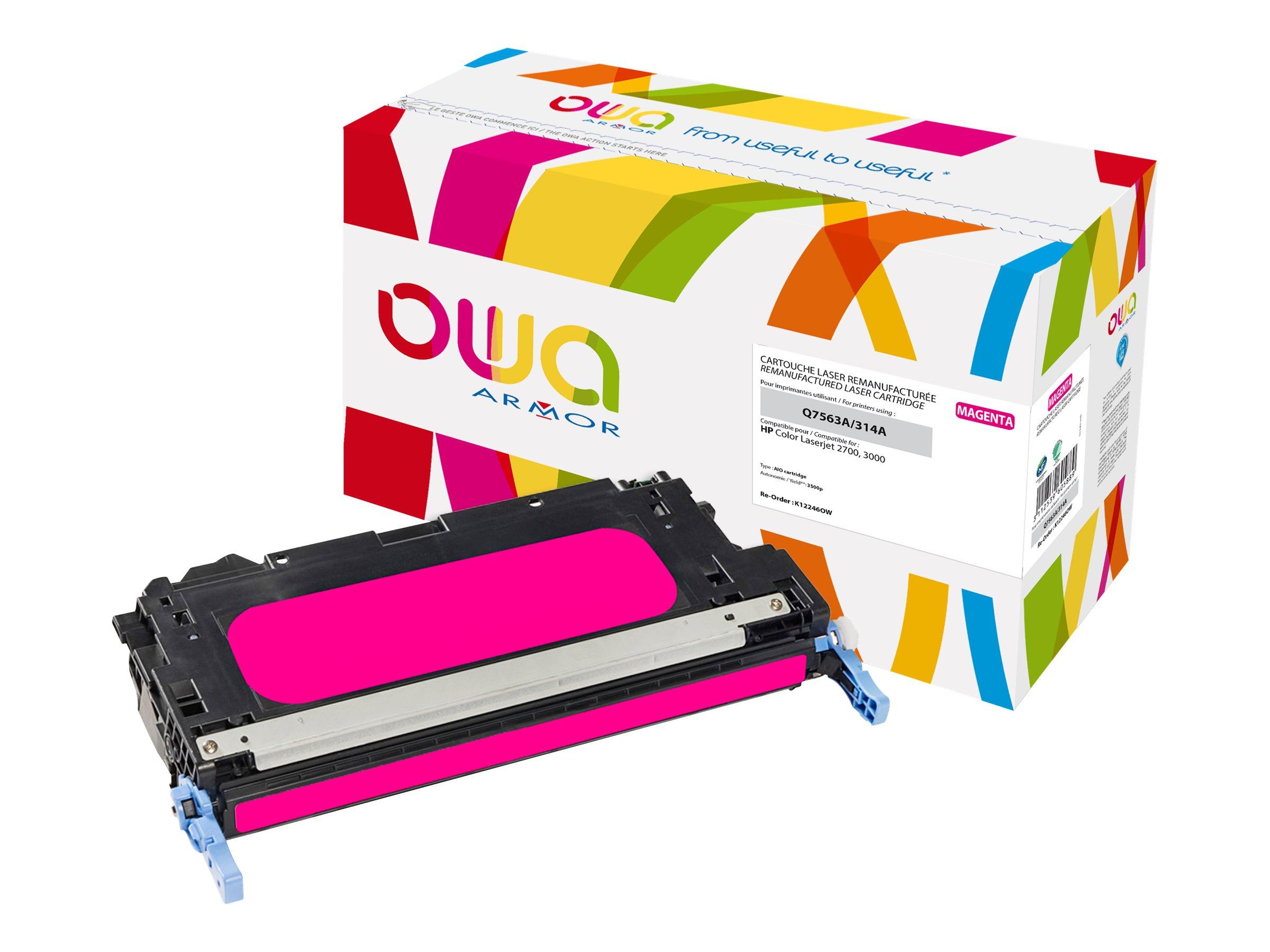 HP 314A - remanufacturé Owa K12246OW - magenta - cartouche laser