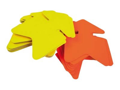 Apli Agipa - 50 flèches fluo - jaune/orange - 12 x 16 cm