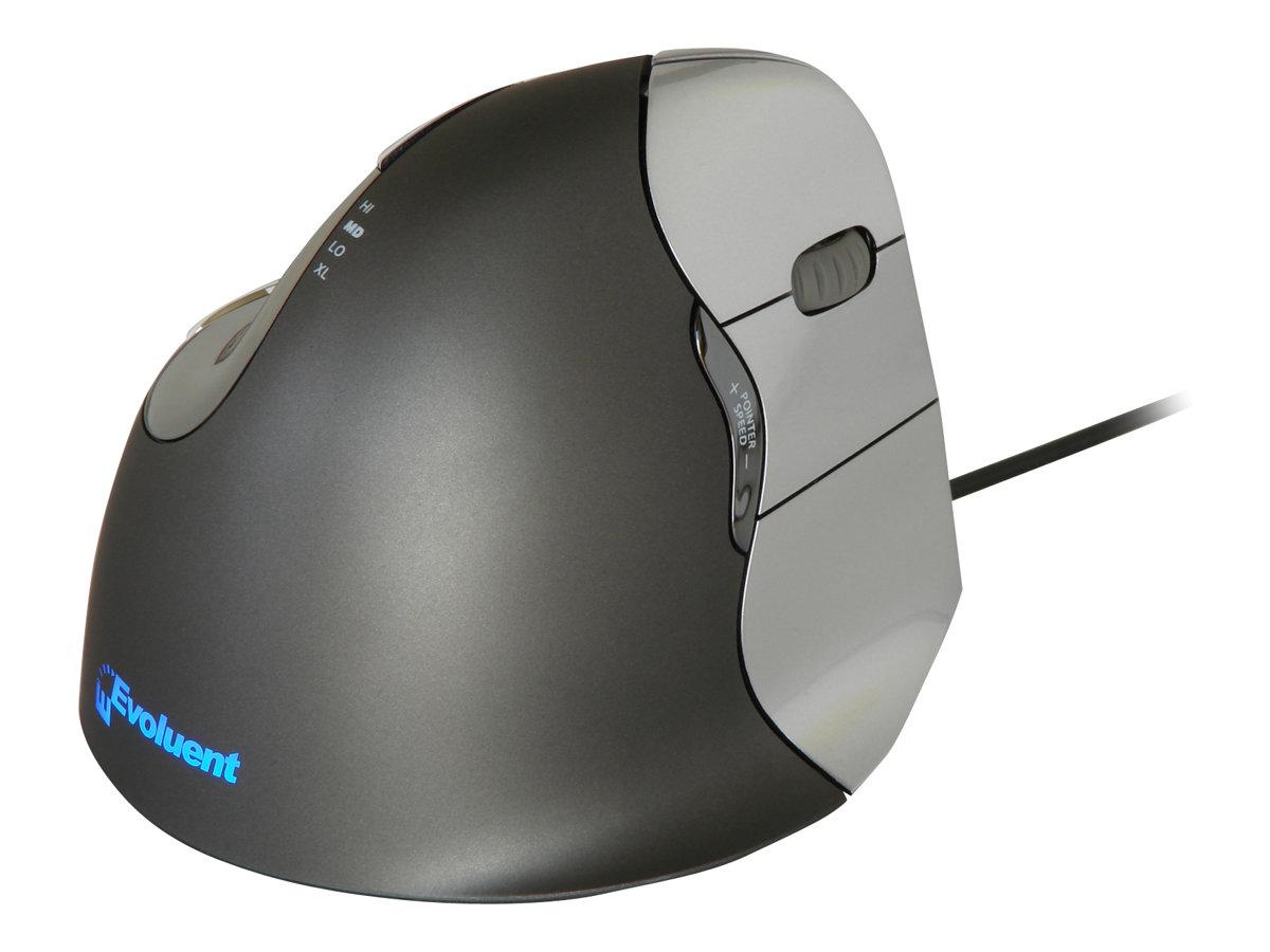 Bakker Elkhuizen Evoluent 4 - souris filaire ergonomique pour gaucher