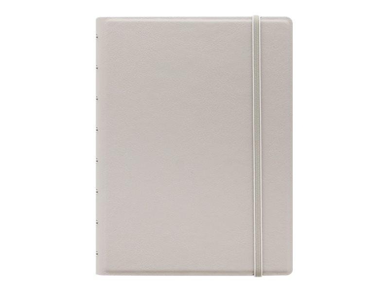 Filofax Classic - Carnet de notes à spirale A5 - gris pastel