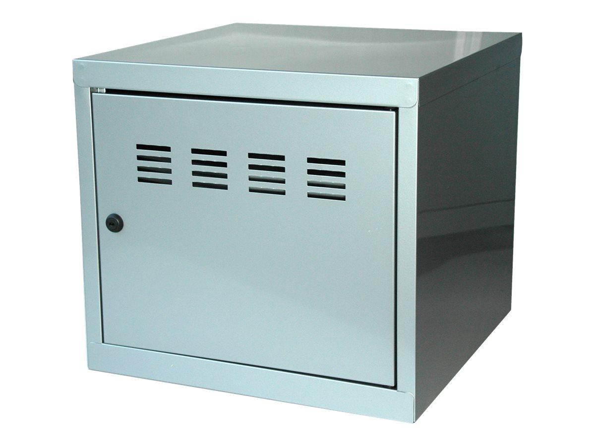 Casier cube / Vestiaire - 36 x 40 x 40 cm - aluminium