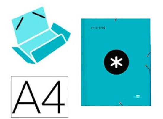 Antartik - Chemise à rabats - A4 - bleu