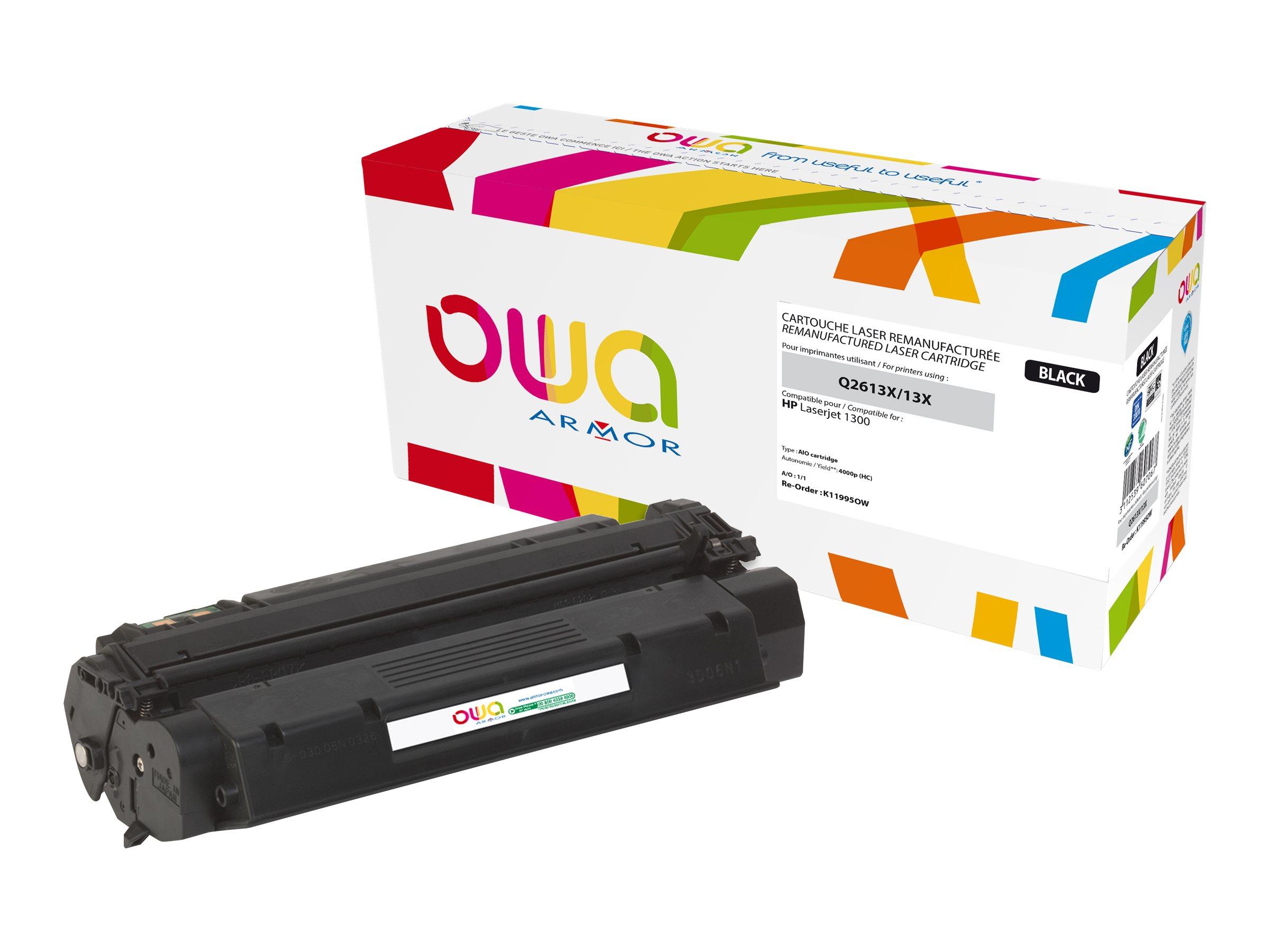 HP 13X - remanufacturé Owa K11995OW - noir - cartouche laser