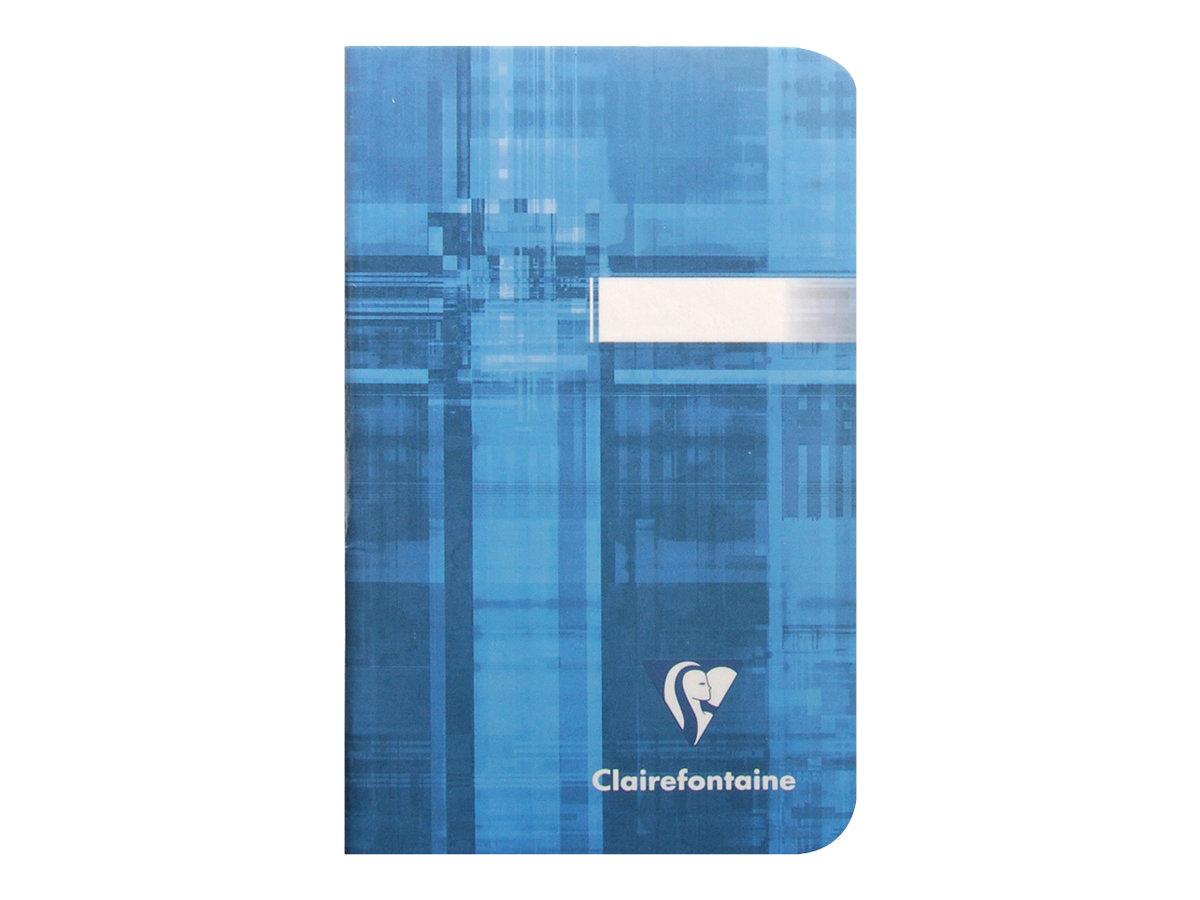 Clairefontaine - Carnet 9 x 14 cm - 96 pages - petits carreaux (5x5 mm) - disponible dans différentes couleurs