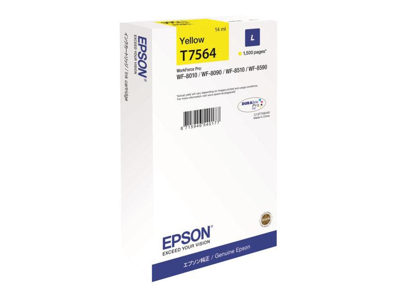 Epson T7564 - jaune - cartouche d'encre originale
