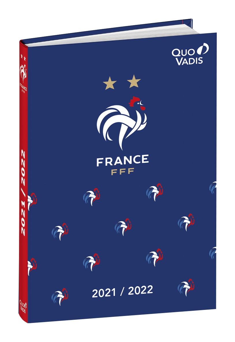 Agenda FFF - 1 jour par page - 12 x 17 cm - Quo Vadis