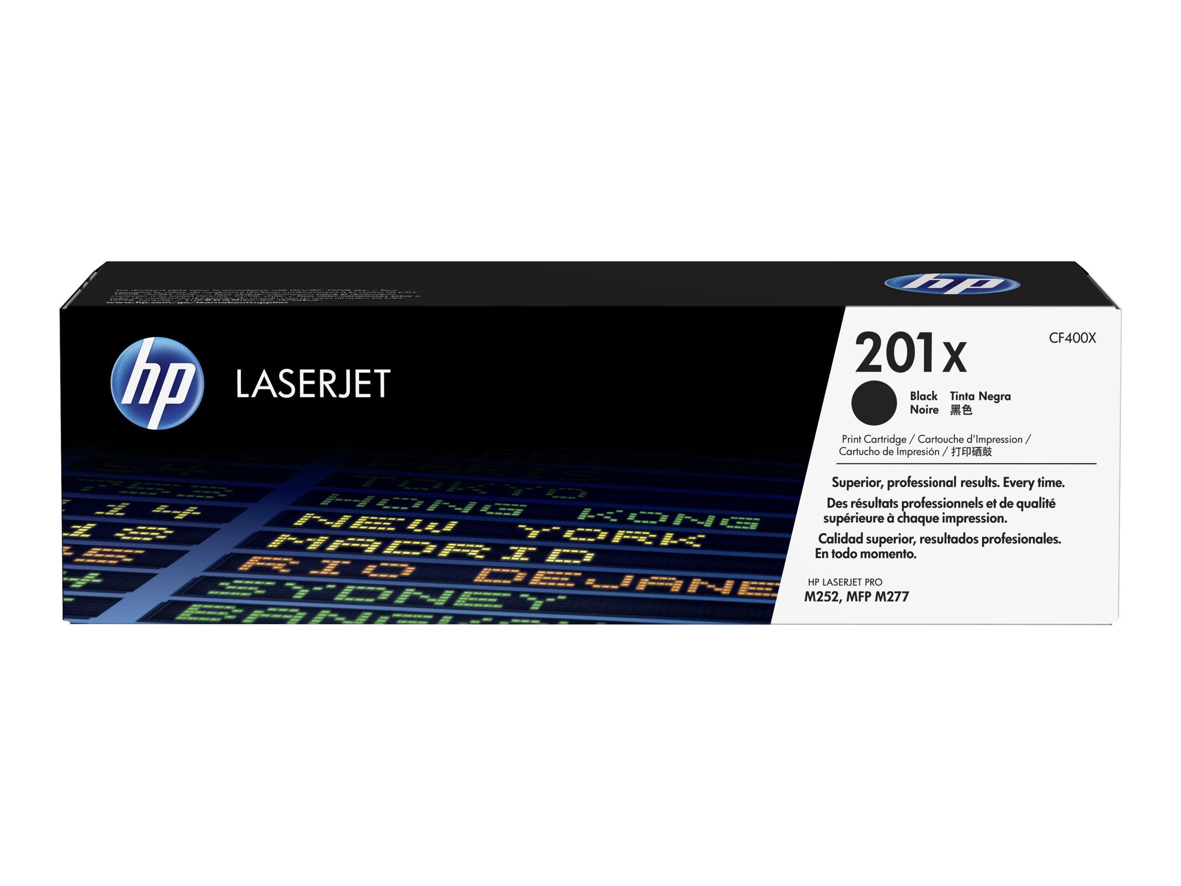HP 201X - noir - cartouche laser d'origine