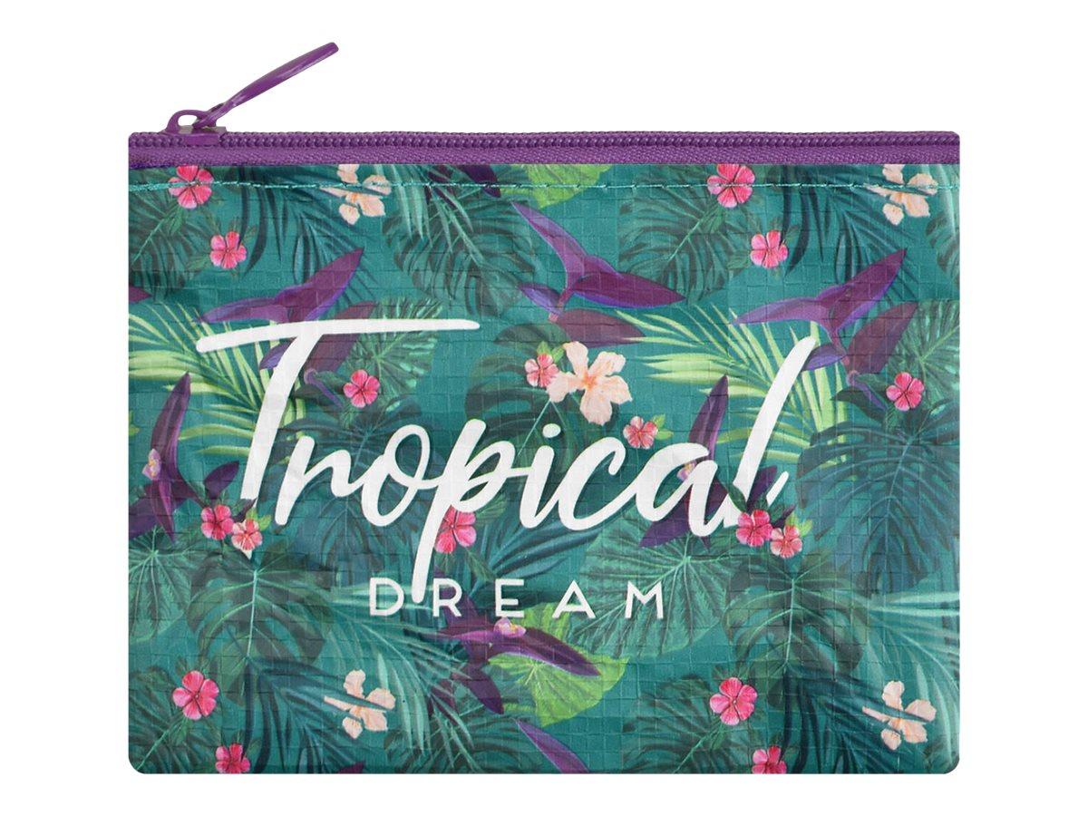 Legami - Porte monnaie - motif tropical
