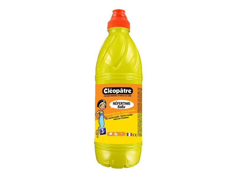 Cléopâtre NEFERTARI BaBy - gouache - jaune primaire - 1 L