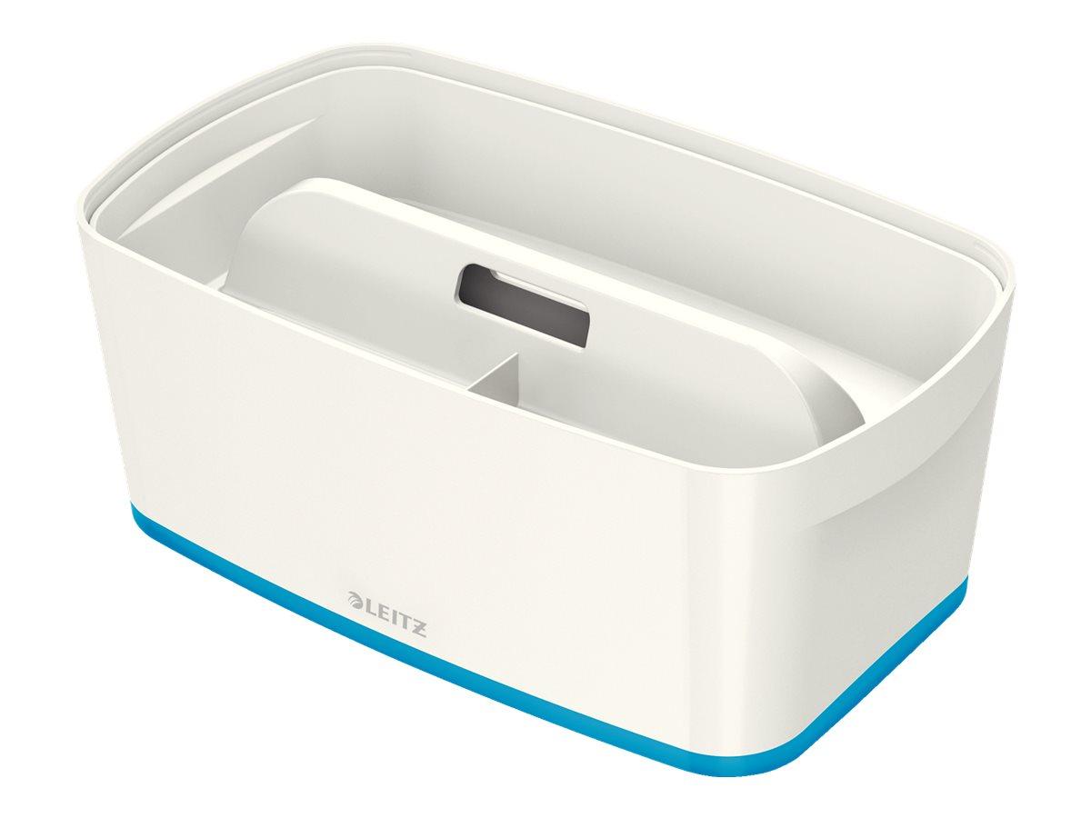 Leitz MyBox - Boîte de rangement petit format - blanc/bleu