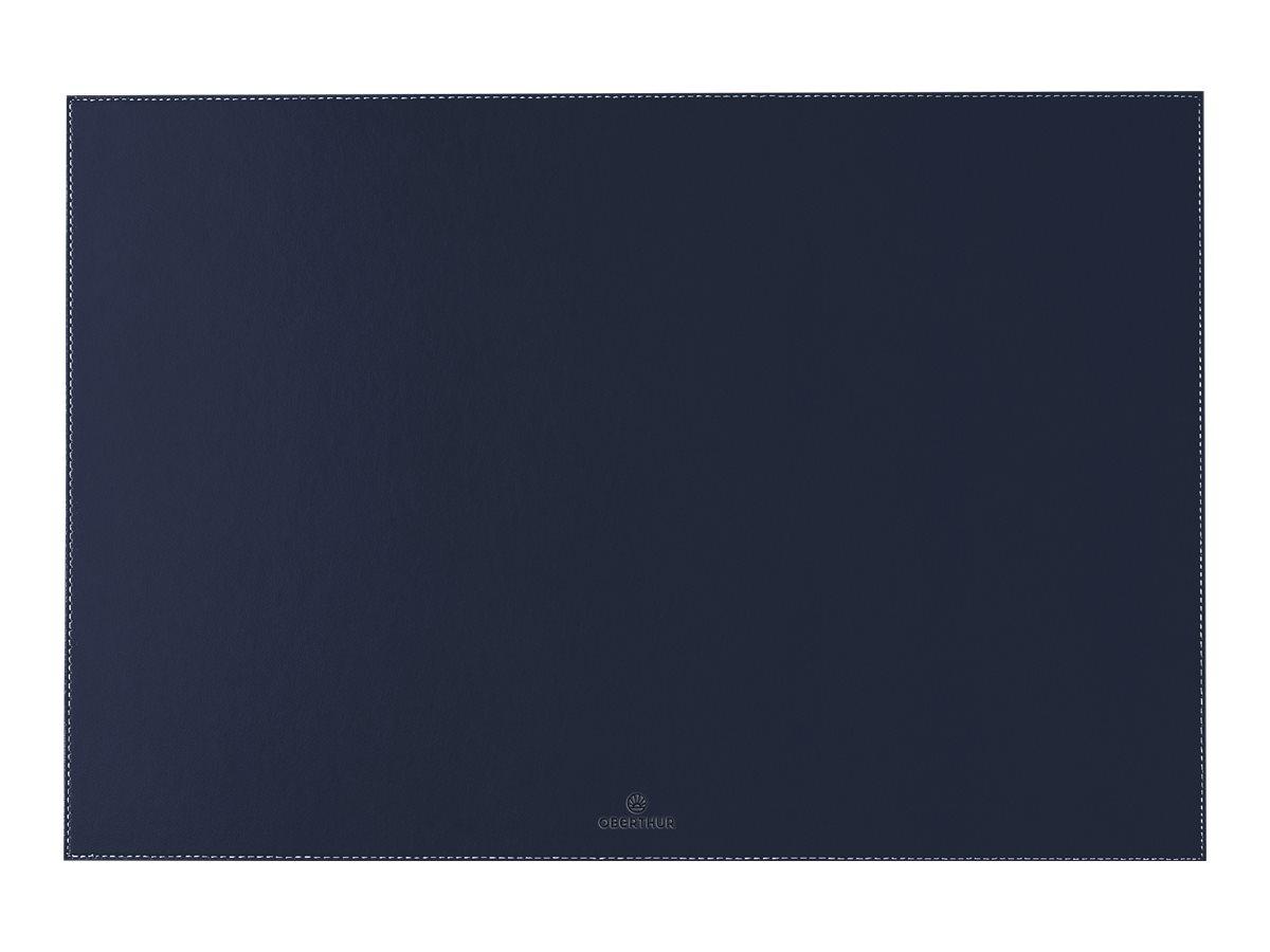 Oberthur - Sous-main - 55 x 37 cm - bleu marine