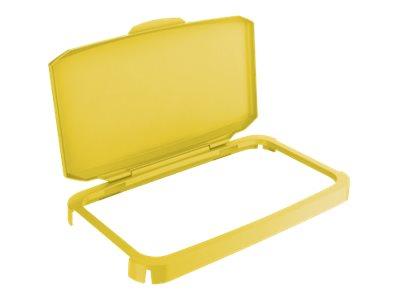 Durable - Couvercle de poubelle 60L - jaune