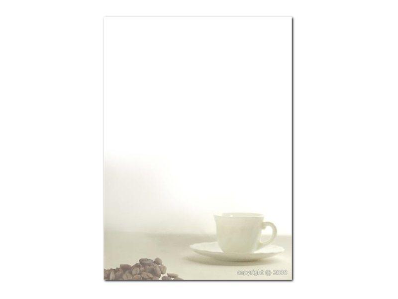 DECAdry Multipurpose - Papier illustré - 20 feuilles - motif café